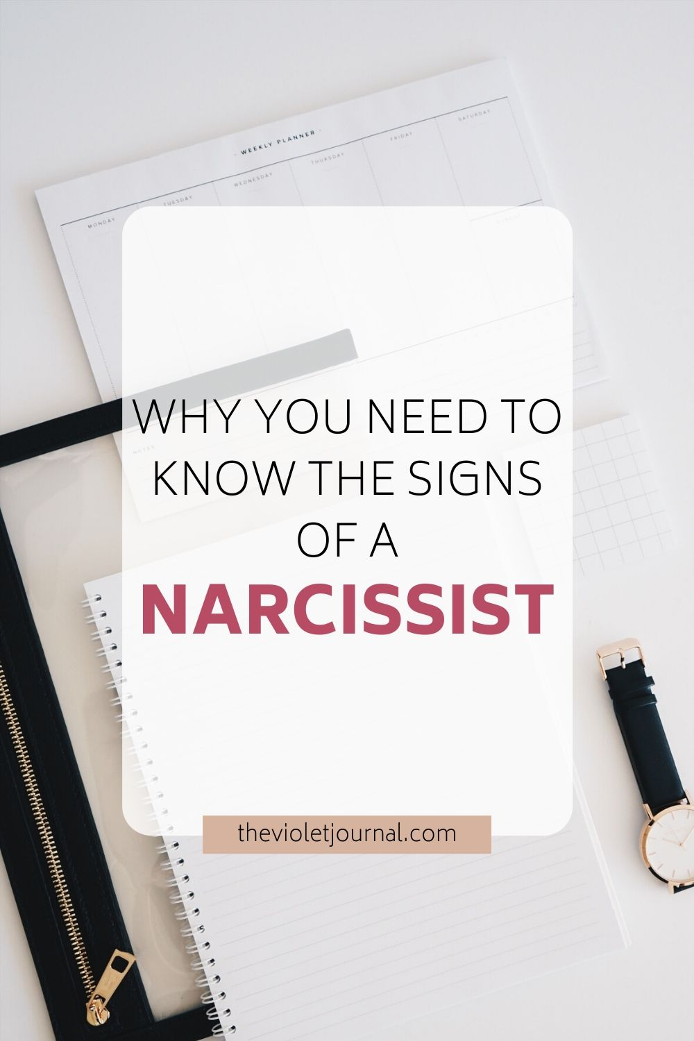 why you should know the signs of a narcissist