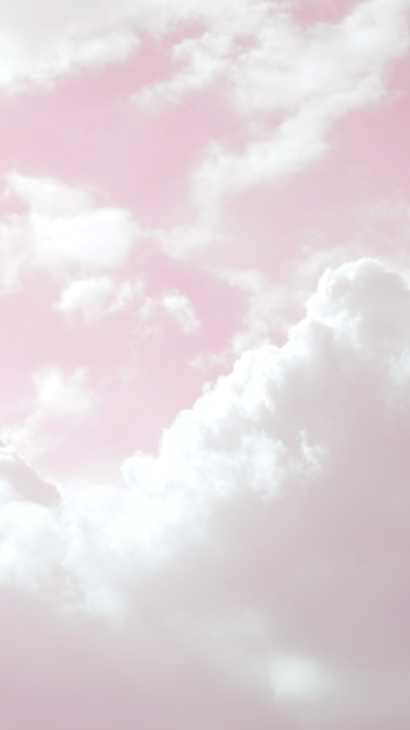 Pink Aesthetic Clouds Wallpaper
