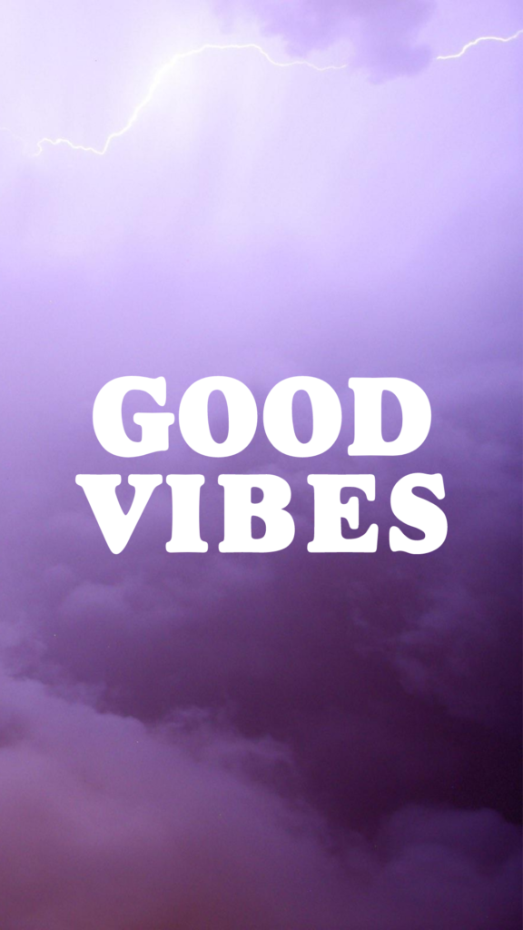 free aesthetic iphone wallpapers purple good vibes