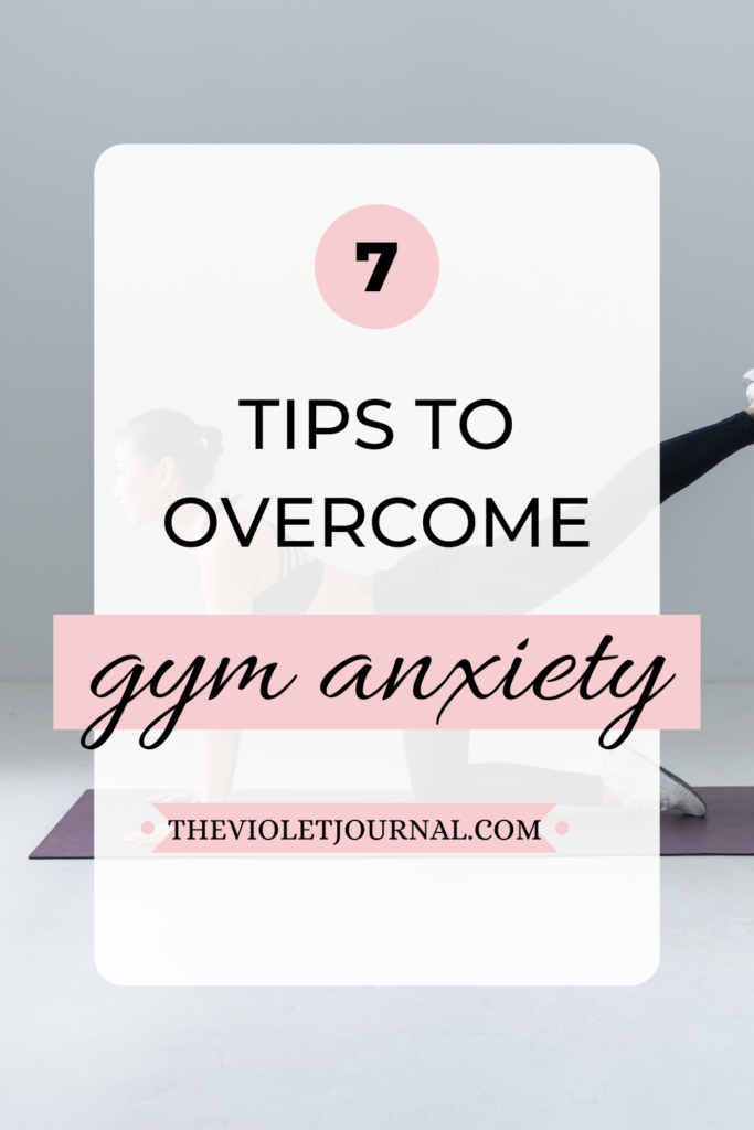 how to overcome gym anxiety