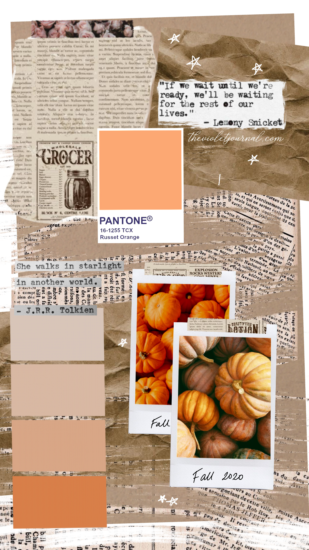 cute collage fall wallpapers for your phone