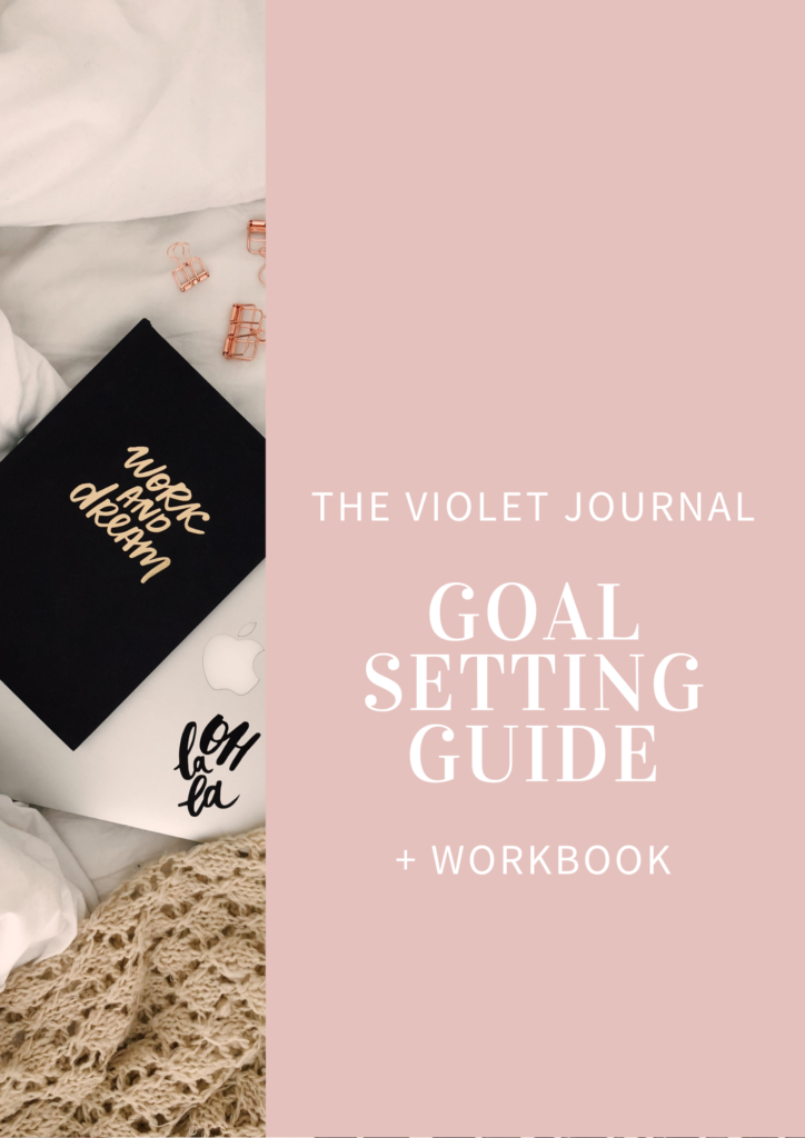 free goal setting guide and workbook