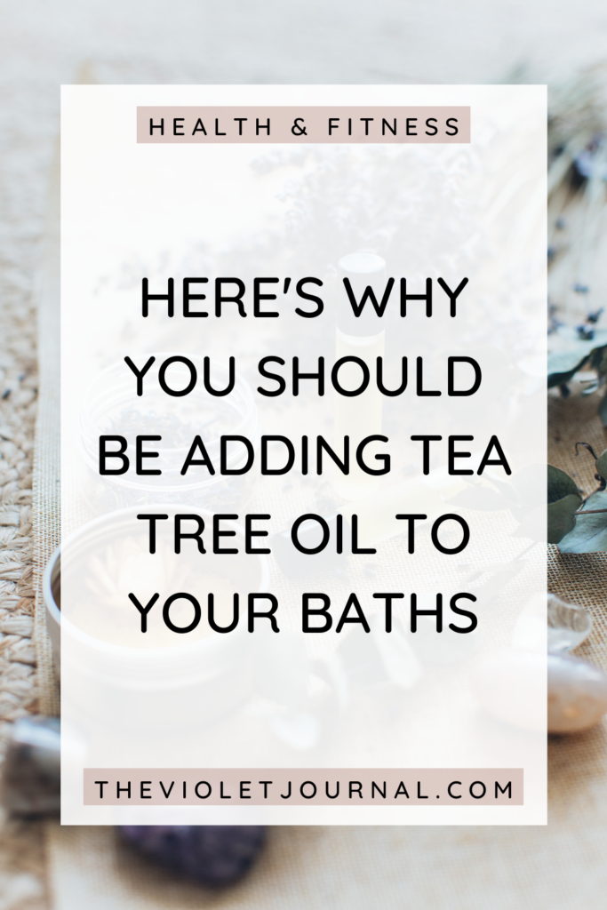 add tea tree oil to bath