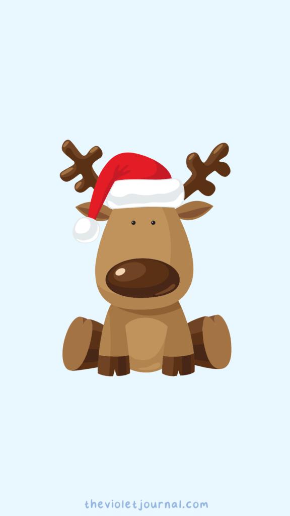 cute reindeer wallpaper