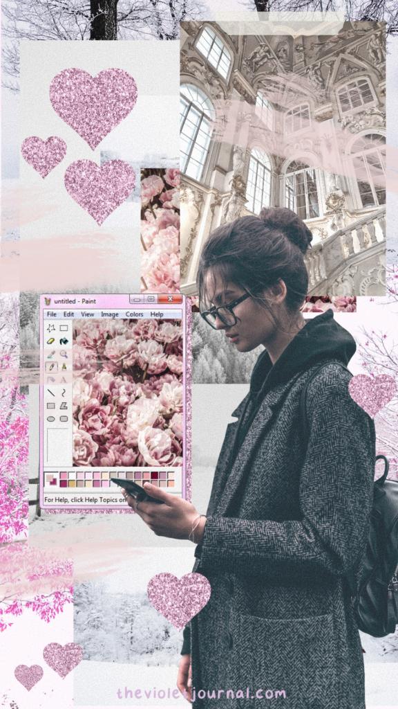 free collage winter wallpaper