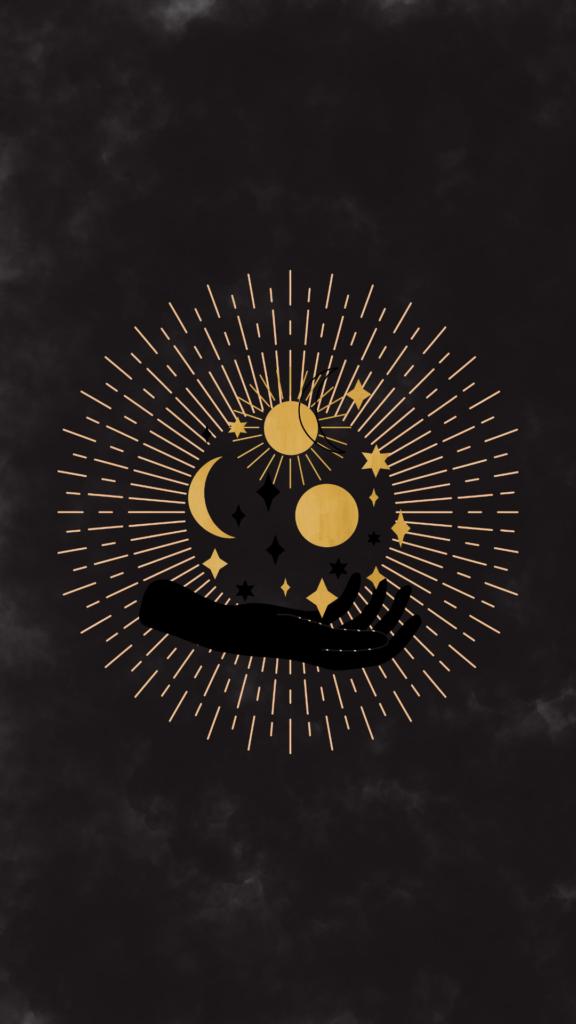 celestial iphone wallpaper