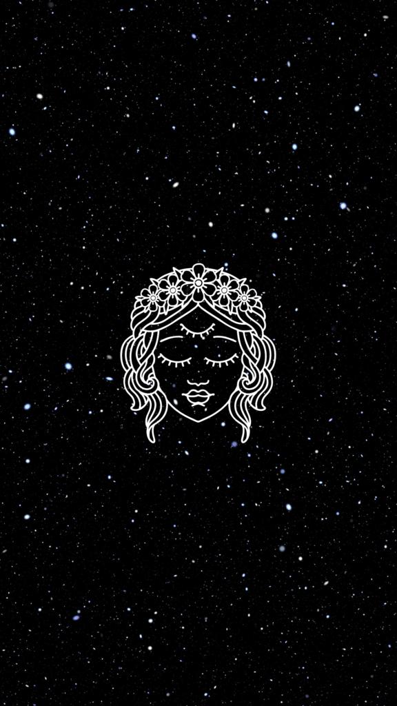 space goddess celestial wallpaper