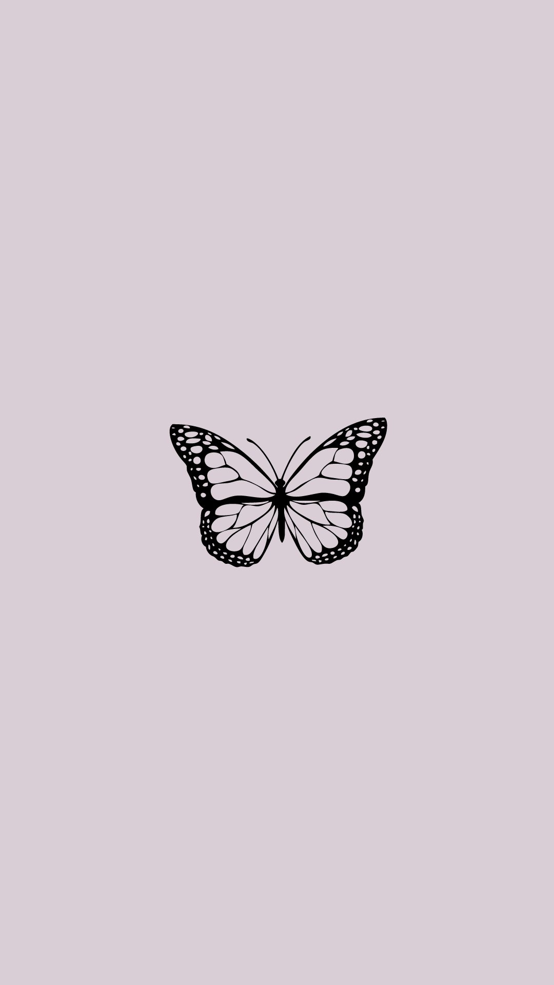aesthetic butterfly wallpaper