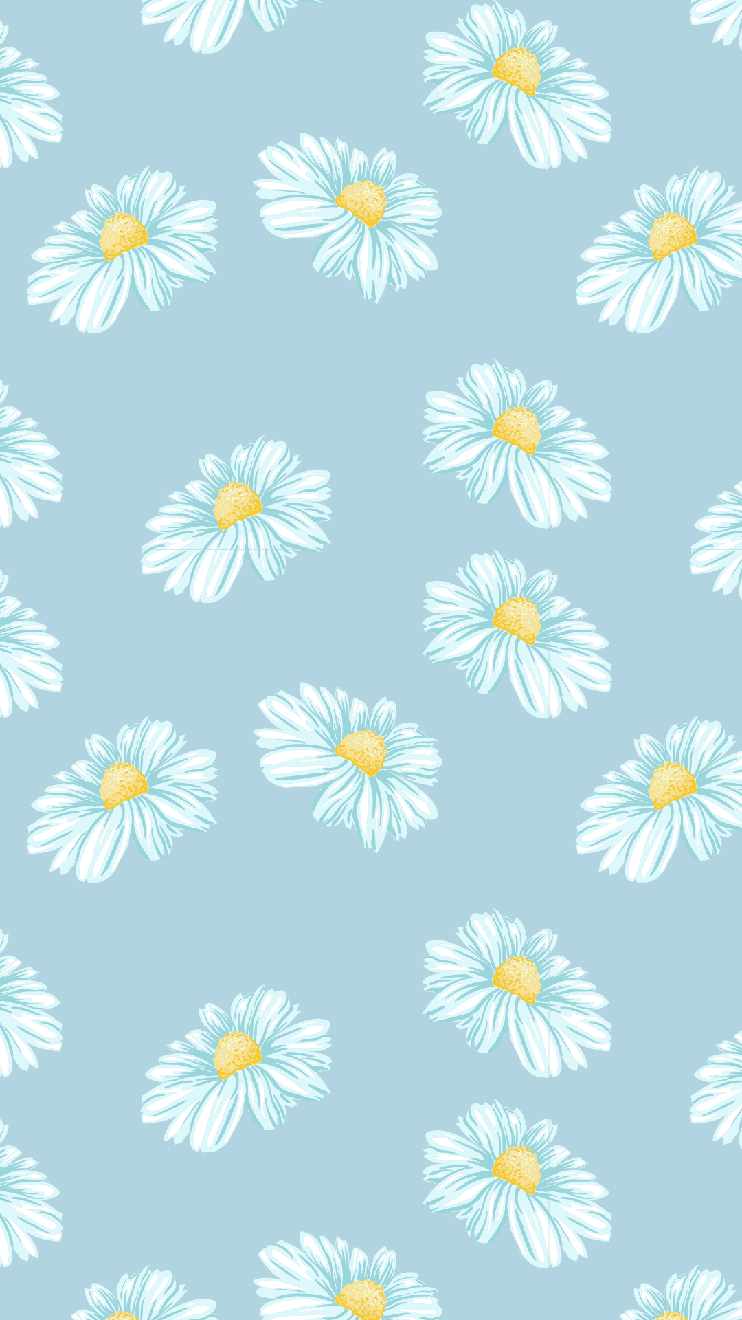 cute daisies wallpaper for spring