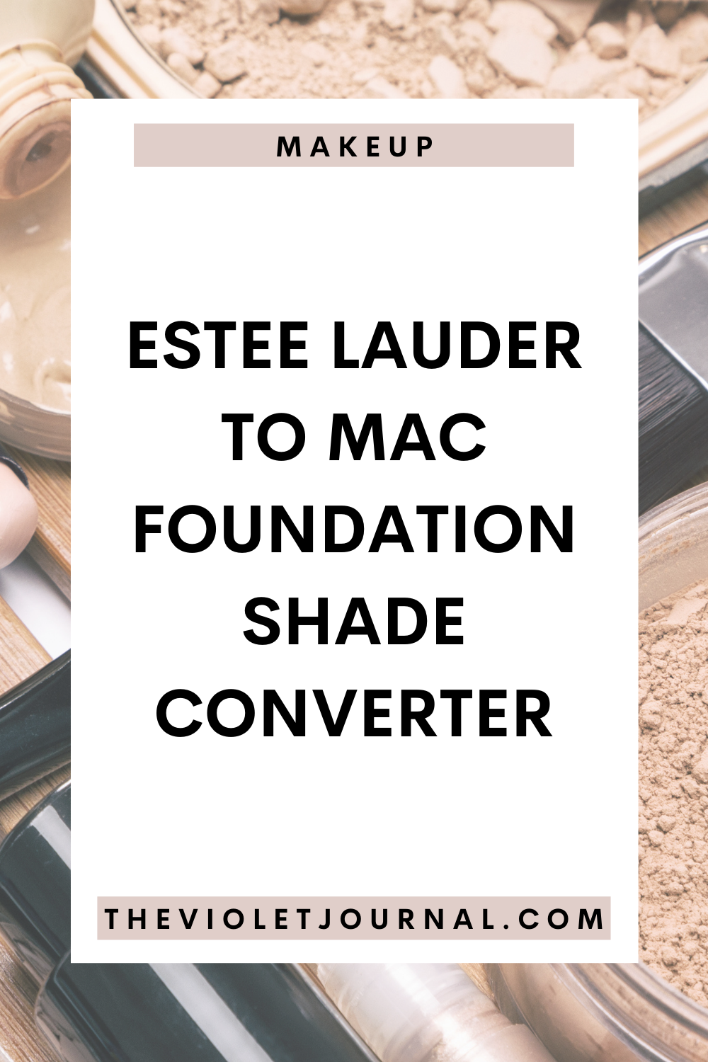 estee lauder double wear to mac foundation shade conversion chart